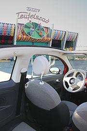 fiat 500c cabrio viersitziges ganzjahres cabrio mit elektrisch bet tigtem softtop seit herbst. Black Bedroom Furniture Sets. Home Design Ideas