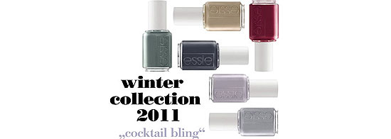 cocktail bling  ist das Motto der neuen essie Winter Collection 2011