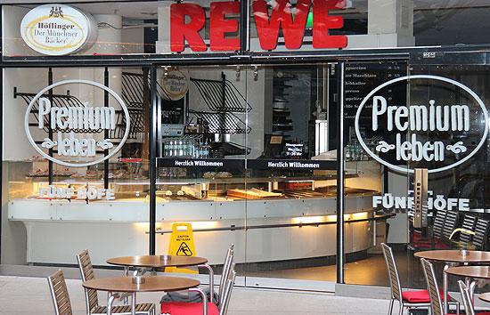 Frankfurt Flughafen Rewe