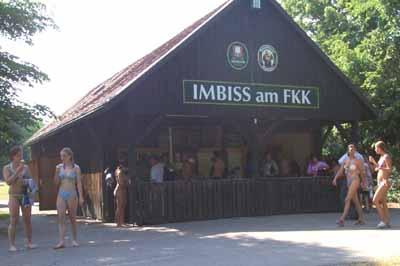 Feringasee03 Q011imbiss Der Kiosk Am Fkk Am Hinteren Ende Des
